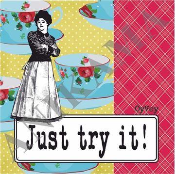תמונה של Just try it Coaster