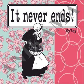 תמונה של It never ends Magnet