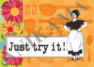 תמונה של Just try it Placemat