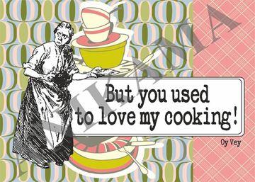תמונה של But you used to love my cooking Placemat