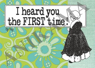 תמונה של I heard you the first time Placemat