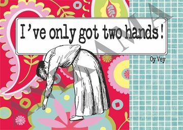 תמונה של I've only got two hands Placemat