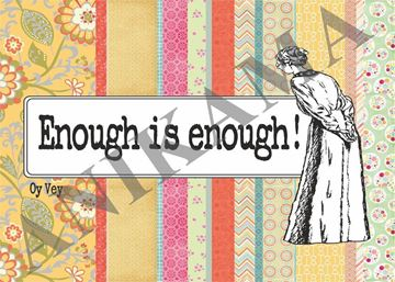 תמונה של Enough is enough Placemat