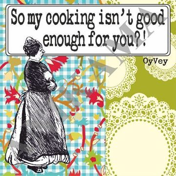 תמונה של So my cooking isn't good enough for you Apron