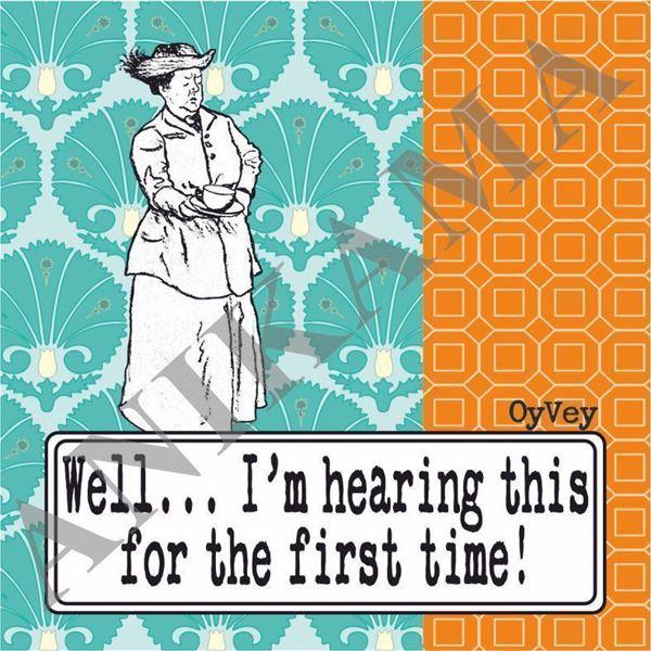 תמונה של Well I'm hearing this for the first time Coaster