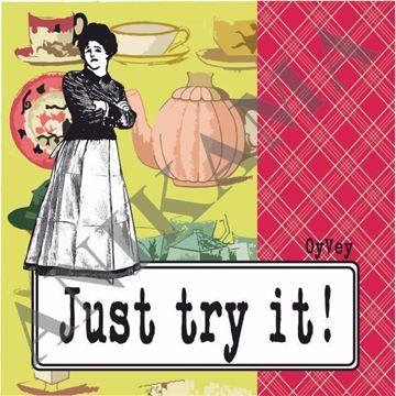 תמונה של Just try it Magnet