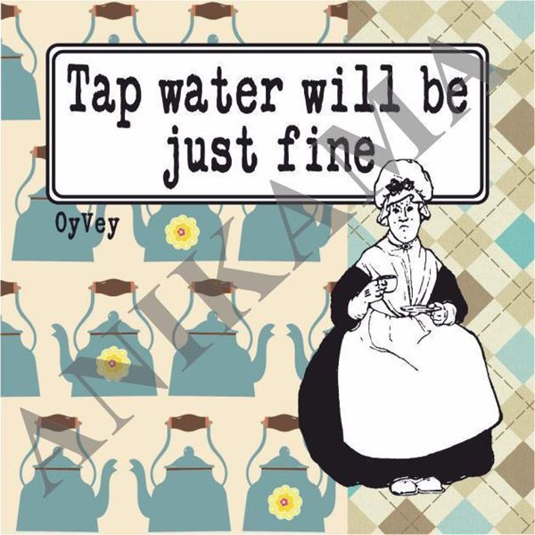 תמונה של Tap water will be just fine Magnet