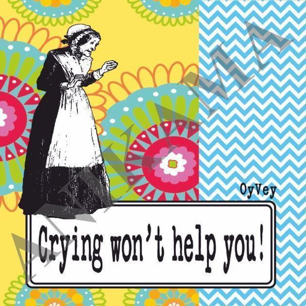 תמונה של Crying won't help you Magnet