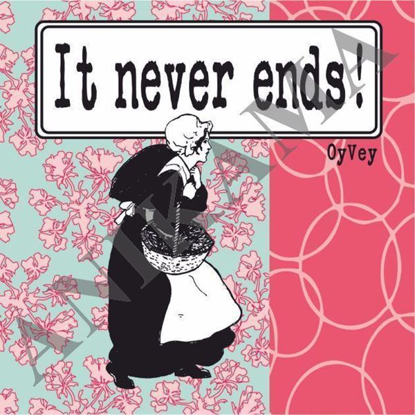 תמונה של It never ends Magnet