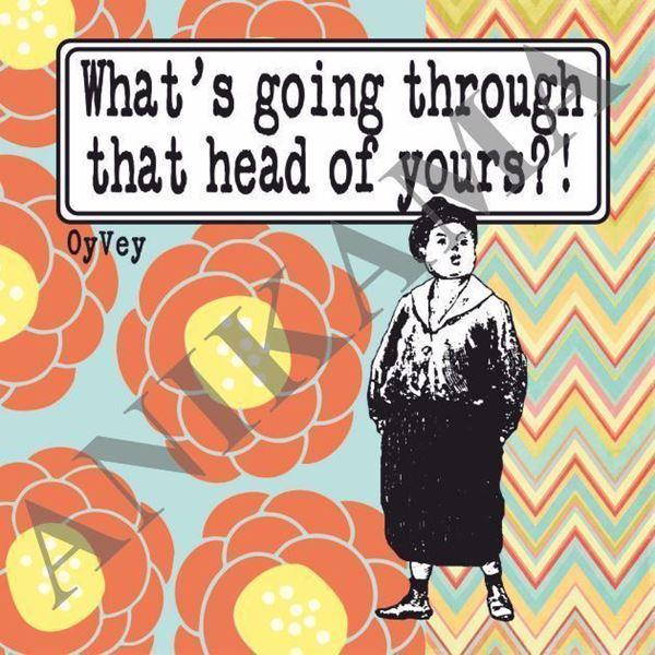 תמונה של What's going through that head of yours Magnet