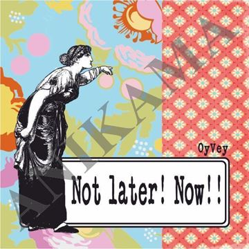 תמונה של Not later now Magnet