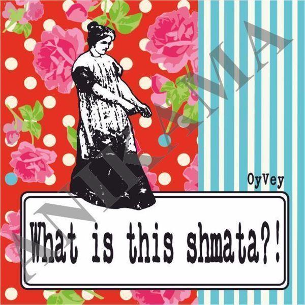 תמונה של What is this shmata Magnet
