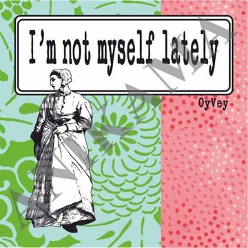 תמונה של I'm not myself lately Magnet