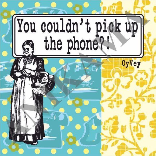 תמונה של You couldn't pick up the phone Magnet