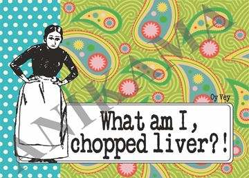 תמונה של What am I chopped liver Placemat