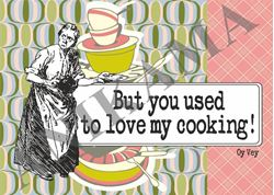 תמונה של But you used to love my cooking Placemat