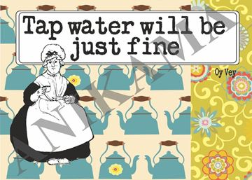 תמונה של Tap water will be just fine Placemat
