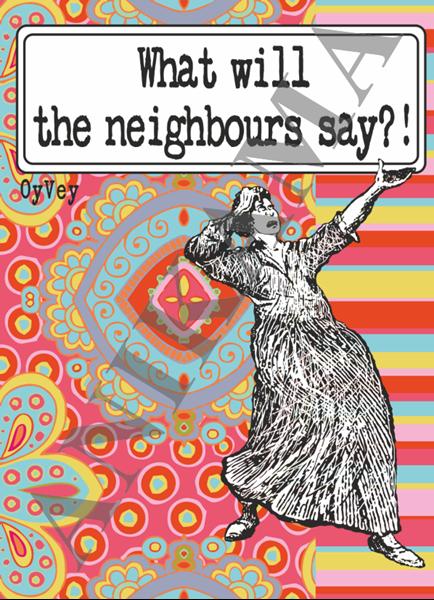 תמונה של What will the neighbours say Passport Cover