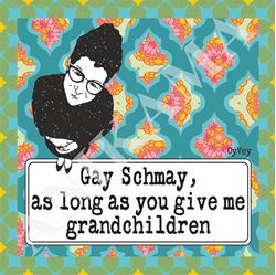 תמונה של Gay Schmay as long as you give me grandchildren Men t-shirt