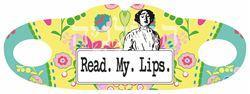 תמונה של מסיכת בד Read My Lips