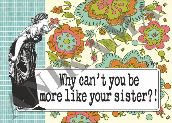 תמונה של Why can't you be more like your sister Placemat